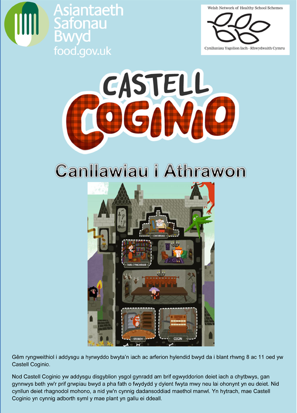 Download the Castell Coginio Teacher Guide