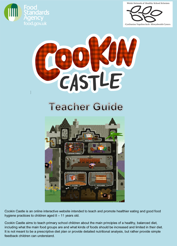 Cookin Castle Teacher Guide Download